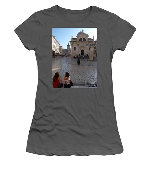 Dubrovnik - Time To Relax Women's T-Shirt (Athletic Fit)