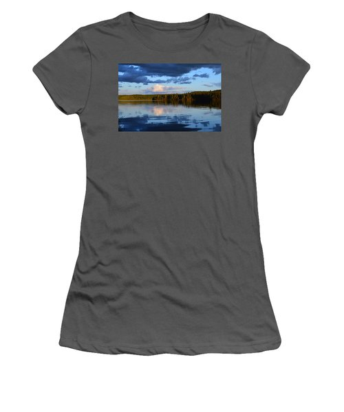 Dusk After A Storm Women's T-Shirt (Athletic Fit)