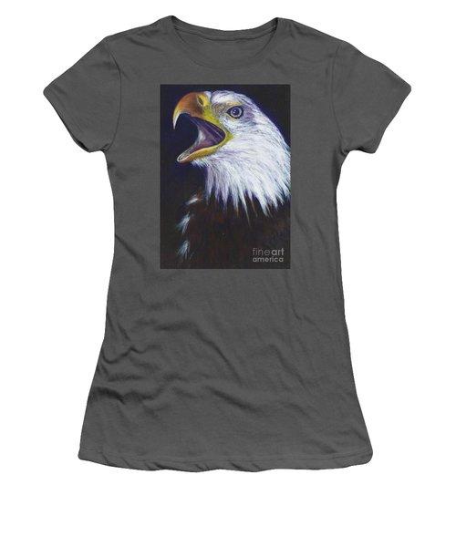 Bald Eagle - Francis -audubon Women's T-Shirt (Athletic Fit)