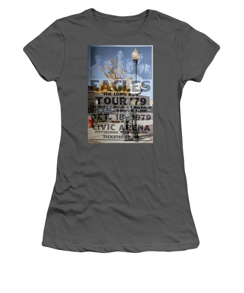 Eagles The Long Run Tour Women's T-Shirt (Athletic Fit)