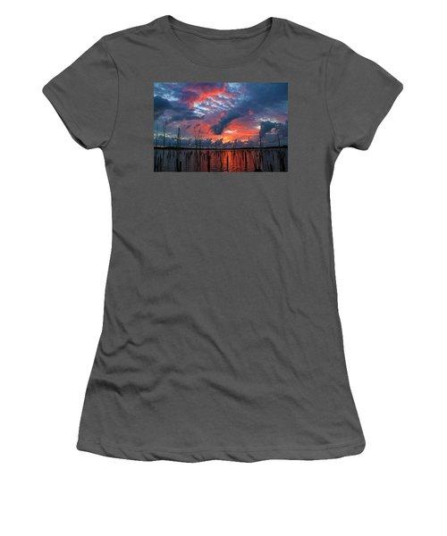 Early Dawns Light Women's T-Shirt (Junior Cut) by Roger Becker