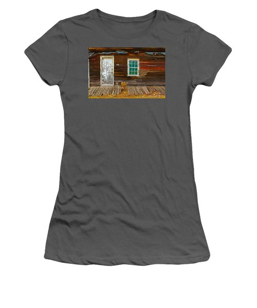 Eckley Reflection Women's T-Shirt (Athletic Fit)