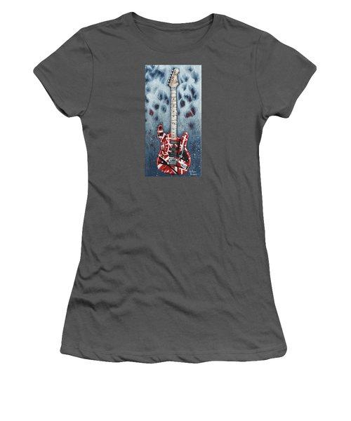 Eddie's Frankenstrat Women's T-Shirt (Junior Cut) by Arturo Vilmenay