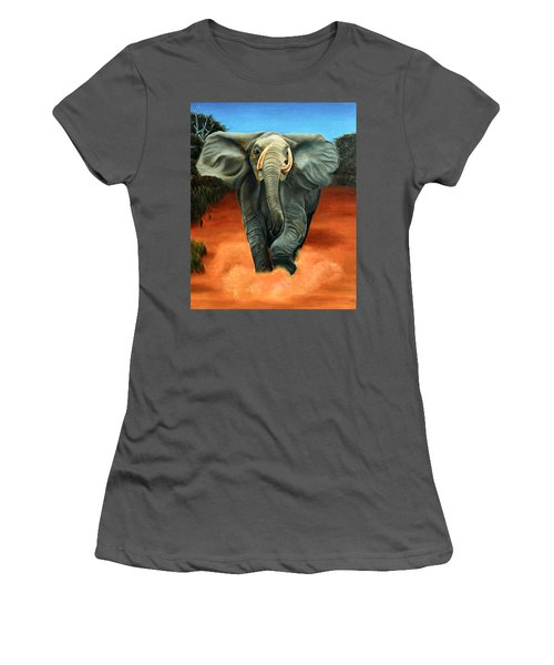 Elephant Women's T-Shirt (Athletic Fit)