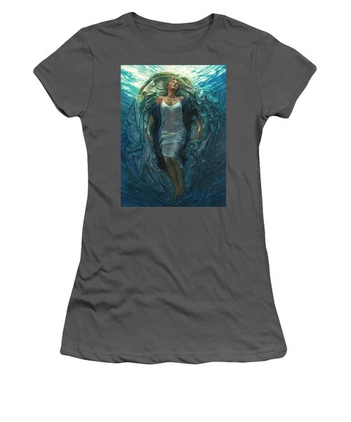 Emerge Painting Women's T-Shirt (Athletic Fit)