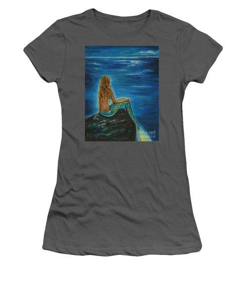 Enchanted Mermaid Beauty Women's T-Shirt (Athletic Fit)