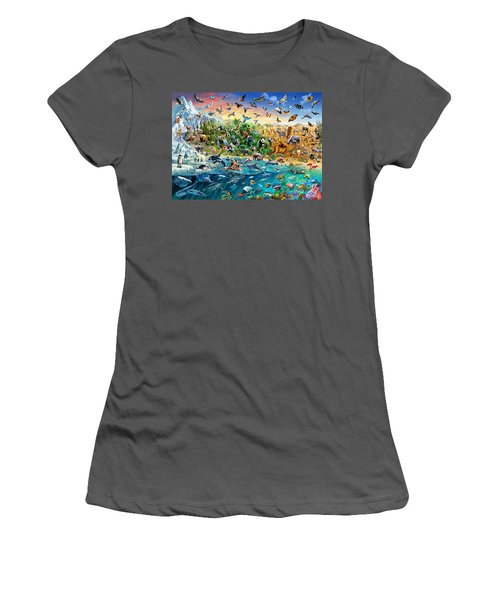Endangered Species Women's T-Shirt (Athletic Fit)