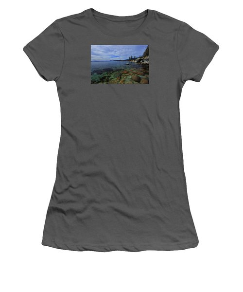 Women's T-Shirt (Junior Cut) featuring the photograph Enter Willingly  by Sean Sarsfield