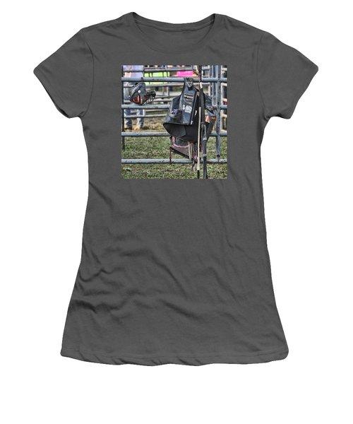 Equipment Women's T-Shirt (Junior Cut) by Denise Romano