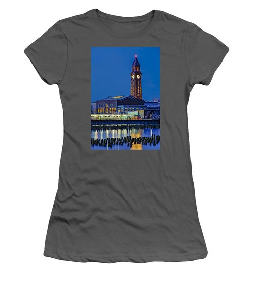 Erie Lackawanna Terminal Hoboken Women's T-Shirt (Athletic Fit)