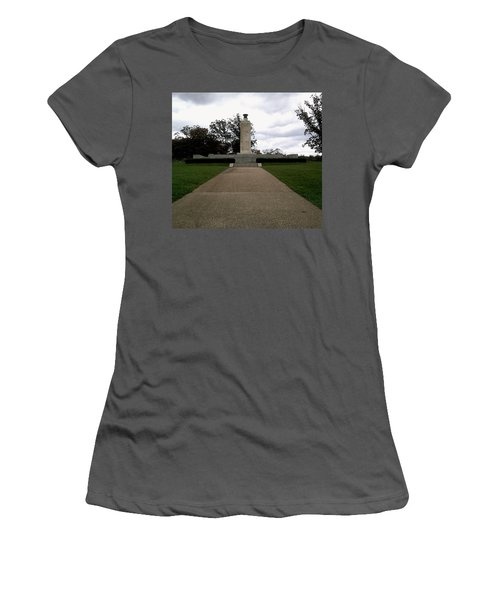 Eternal Light Peace Memorial Women's T-Shirt (Athletic Fit)