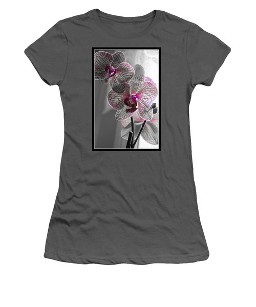 Ethereal Orchid Women's T-Shirt (Athletic Fit)
