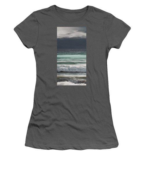 Even Tides Women's T-Shirt (Junior Cut) by David Hansen