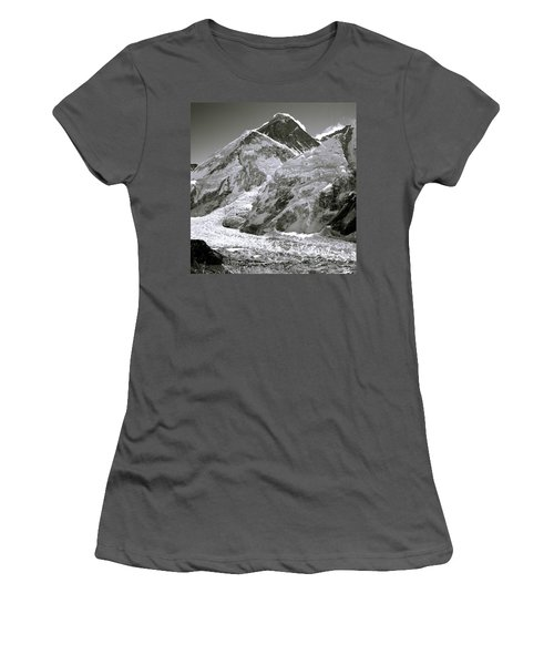 Everest Sunrise Women's T-Shirt (Junior Cut) by Shaun Higson