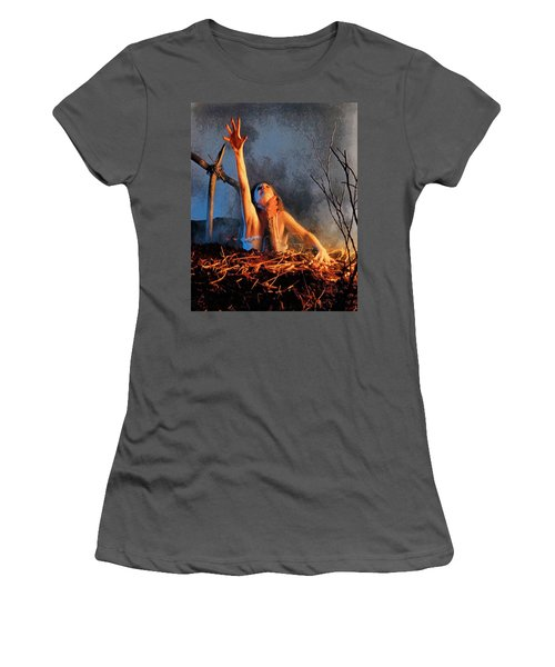 Evil Dead Women's T-Shirt (Athletic Fit)