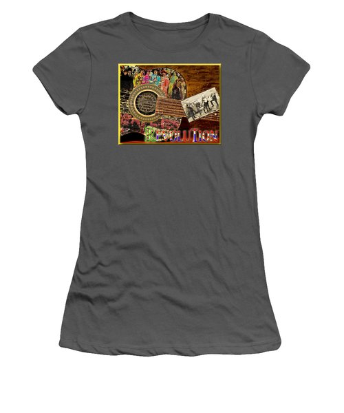 Evolution Women's T-Shirt (Athletic Fit)