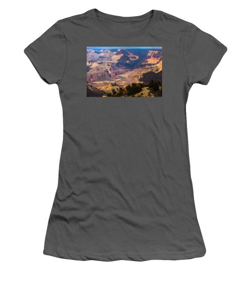 Expanse At Desert View Women's T-Shirt (Junior Cut) by Ed Gleichman