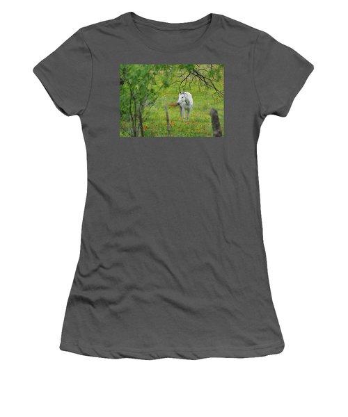 Eye On Beauty Women's T-Shirt (Athletic Fit)