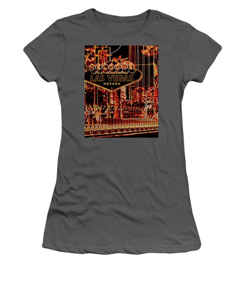 Fabulous Las Vegas Women's T-Shirt (Athletic Fit)