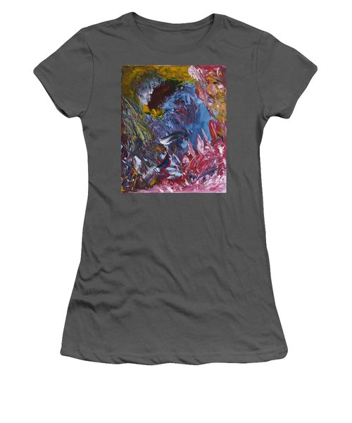 Facing Demons Women's T-Shirt (Athletic Fit)