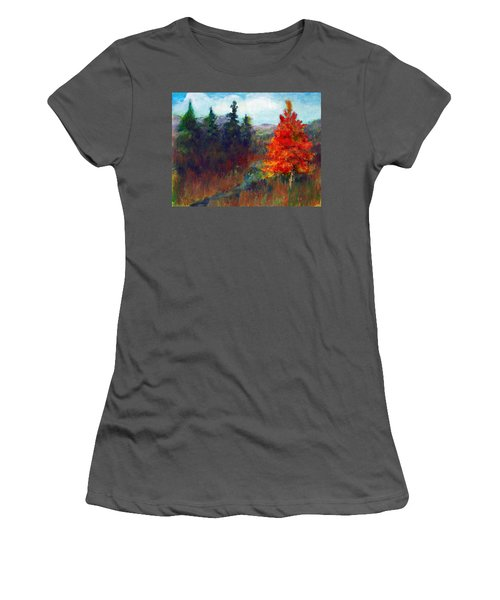 Fall Day Women's T-Shirt (Junior Cut) by C Sitton