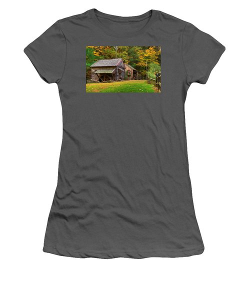 Fall Down On The Farm Women's T-Shirt (Athletic Fit)