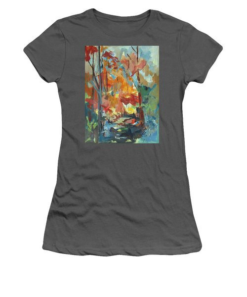 Fall From My Window Women's T-Shirt (Athletic Fit)