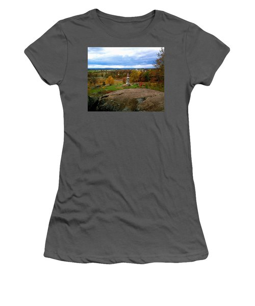 Fall In Gettysburg Women's T-Shirt (Athletic Fit)