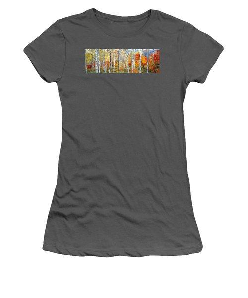 Fall Trees, Shinhodaka, Gifu, Japan Women's T-Shirt (Athletic Fit)