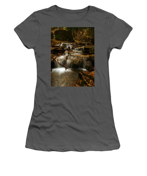 Fall With Grace Women's T-Shirt (Athletic Fit)
