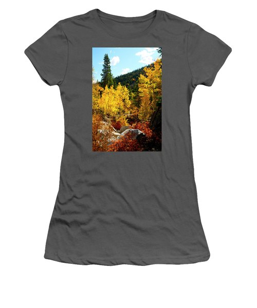 Fall2 Women's T-Shirt (Athletic Fit)