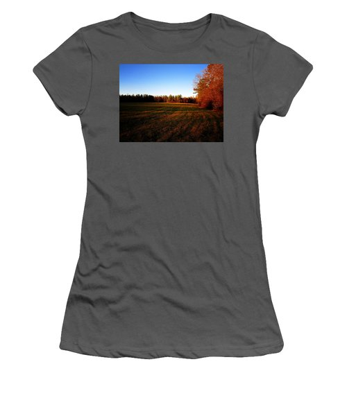 Fallow Field Women's T-Shirt (Athletic Fit)