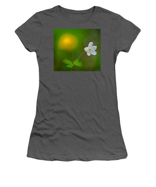 False Rue Anemone Women's T-Shirt (Athletic Fit)