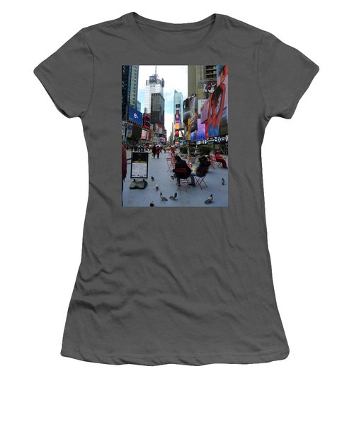 Women's T-Shirt (Junior Cut) featuring the photograph Feeding Time by Jackie Carpenter