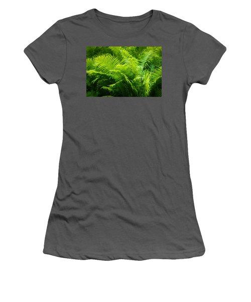 Ferns 1 Women's T-Shirt (Athletic Fit)