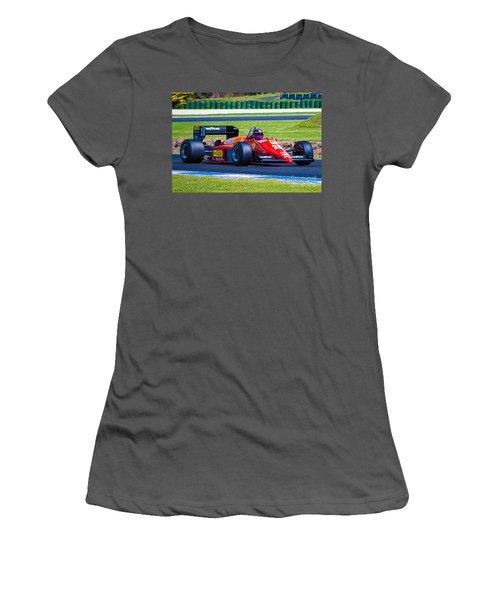 Ferrari At Phillip Island Women's T-Shirt (Athletic Fit)