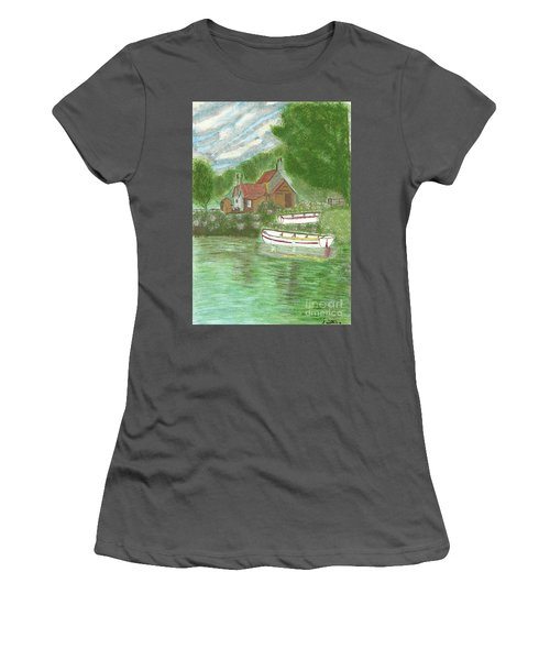 Ferryman's Cottage Women's T-Shirt (Athletic Fit)