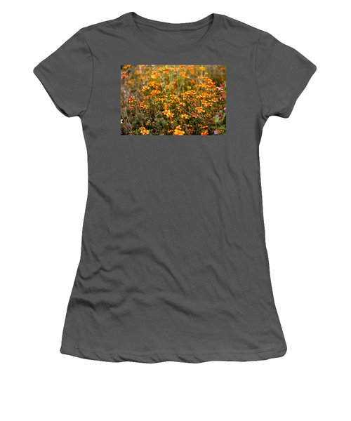 Field Of Wildflowers Women's T-Shirt (Athletic Fit)