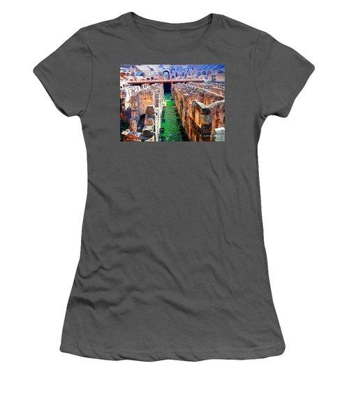 Flavian Amphitheatre Women's T-Shirt (Athletic Fit)