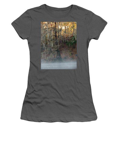 Women's T-Shirt (Junior Cut) featuring the photograph Flint River 15 by Kim Pate