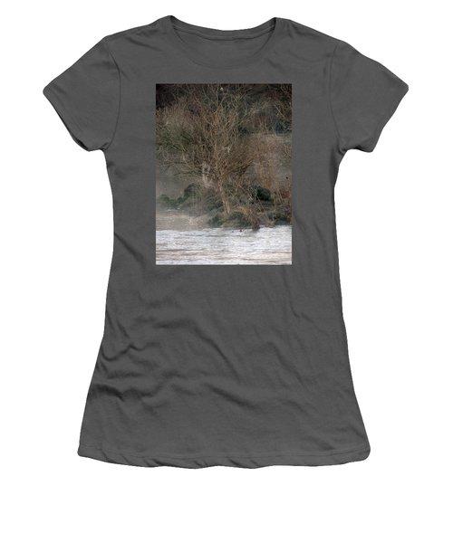 Women's T-Shirt (Junior Cut) featuring the photograph Flint River 19 by Kim Pate