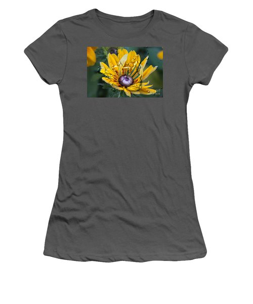 Floral 3 Women's T-Shirt (Athletic Fit)