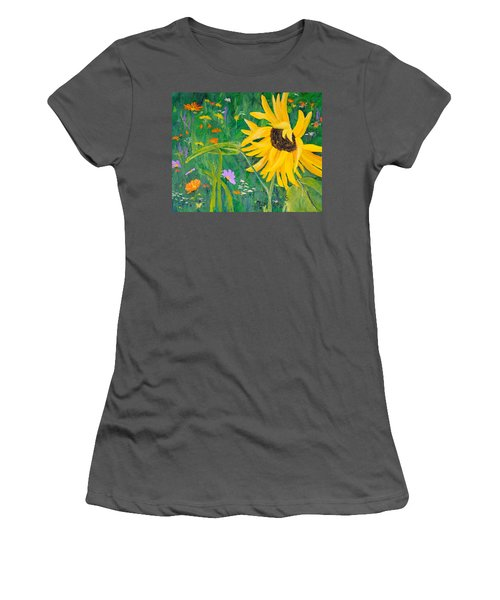 Flower Fun Women's T-Shirt (Athletic Fit)