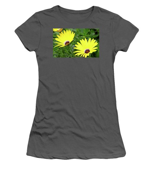 Flower Power Women's T-Shirt (Athletic Fit)