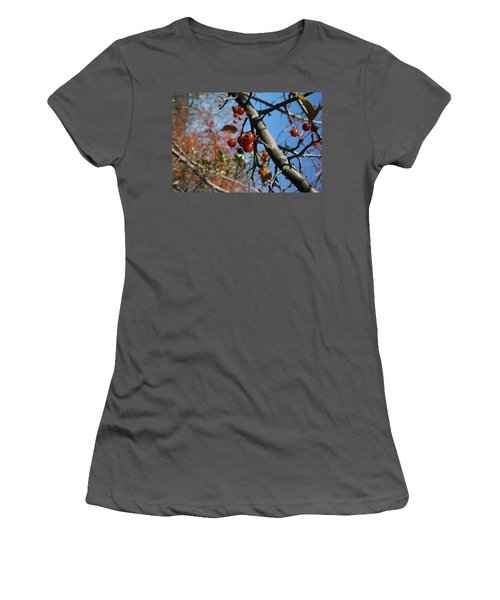 Women's T-Shirt (Junior Cut) featuring the photograph Focused by Neal Eslinger