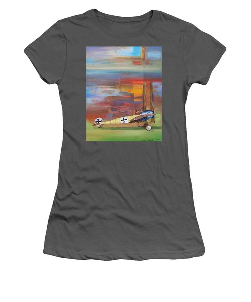 Fokker Ready Women's T-Shirt (Athletic Fit)