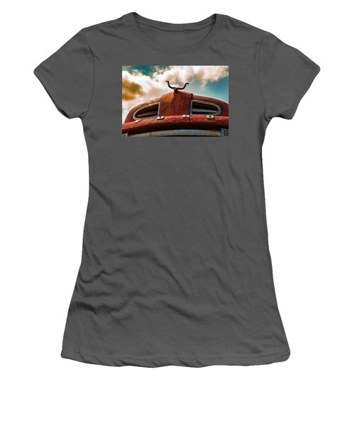 Ford Hood Ornament Women's T-Shirt (Athletic Fit)