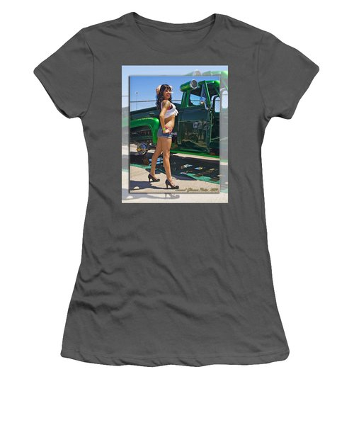 Ford Pick Up_a Women's T-Shirt (Athletic Fit)