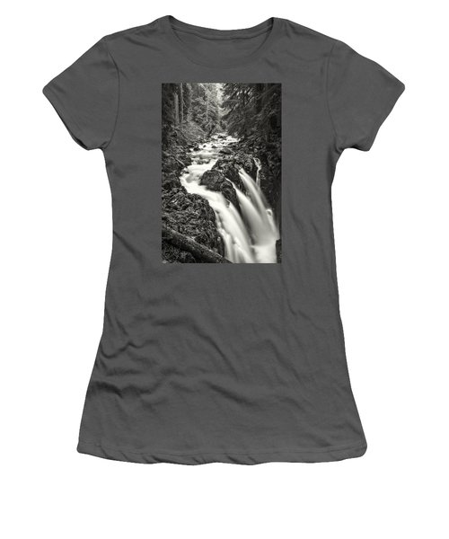 Forest Water Flow Women's T-Shirt (Junior Cut)