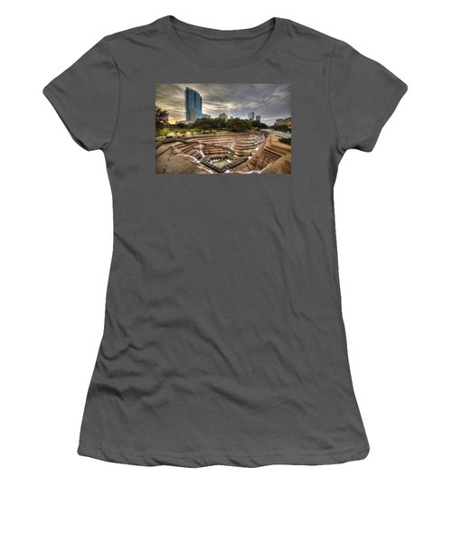 Fort Worth Water Garden Women's T-Shirt (Athletic Fit)